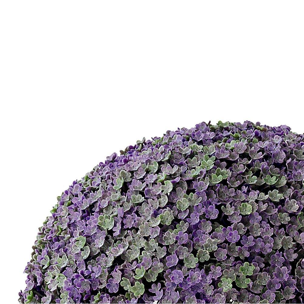 Catral 72050008/ 28/cm /Sfera Decorativa Vinca Colore: Viola//Verde
