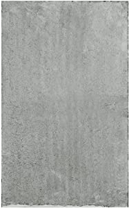 """Home Dynamix Gray Alpine Bathroom Mat : Absorbent and Ultra Plush, Non Skid Backing (17"""" x 24"""")"""