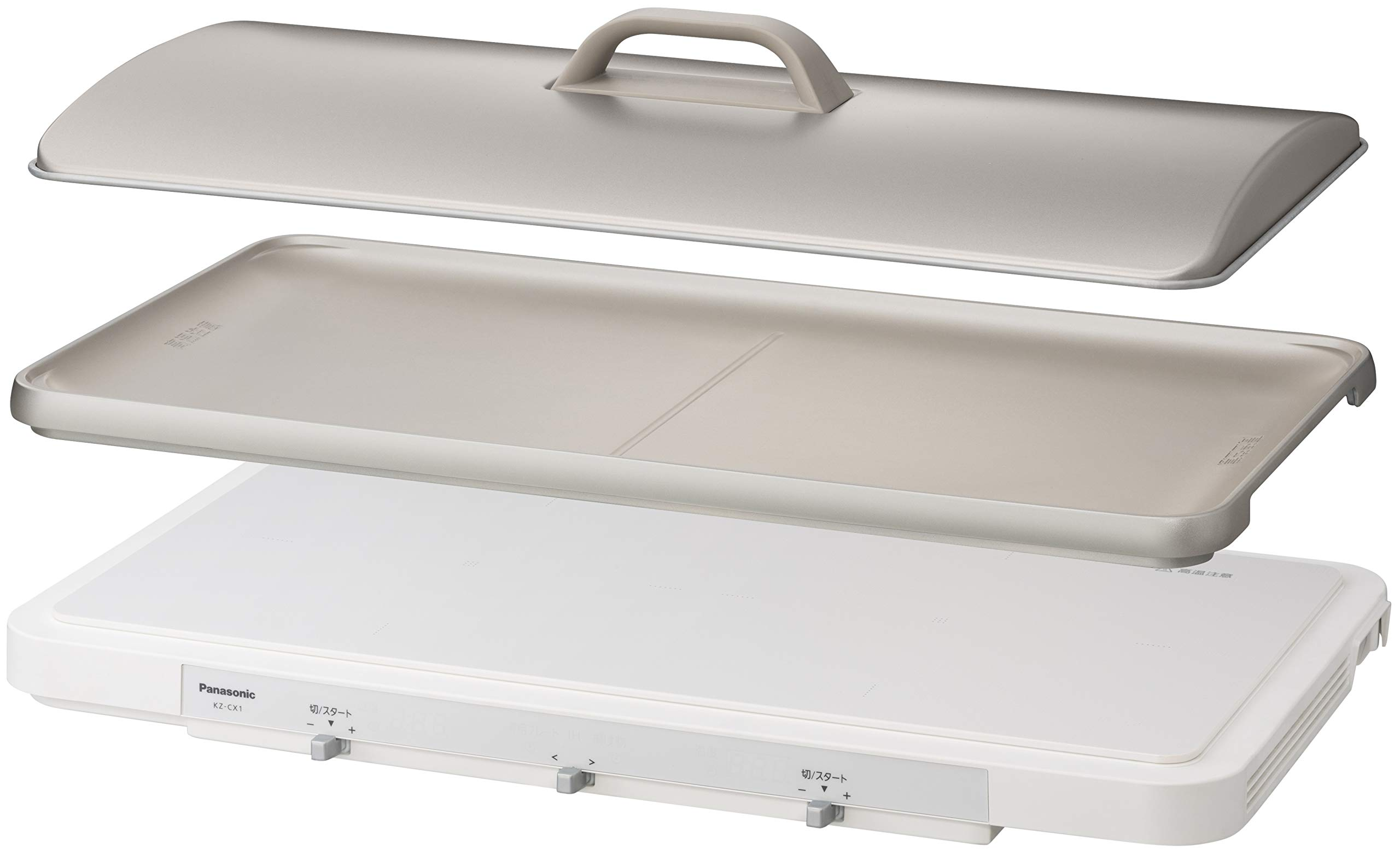 Panasonic IH Daily Hot Plate KZ-CX1-W (WHITE)【Japan Domestic Genuine Products】【Ships from Japan】 by Panasonic (Image #1)