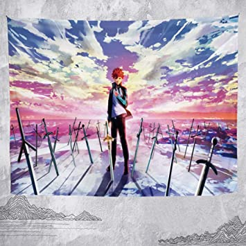 Amazoncom Fate Series Anime Tapestry Living Room Bedroom