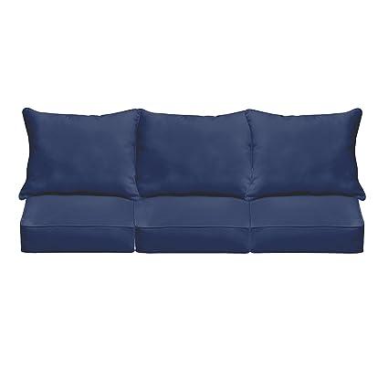 Amazon.com: Mozaic Co. Sloane Azul Oscuro interior/exterior ...