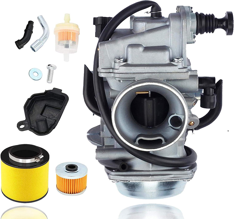 TRX350 Carburetor compatible with Free shipping / New Rancher 350 Honda 35% OFF 350ES