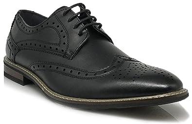 e020fc517372 Amazon.com | Conrad2 New Men's Classic Italy Modern Oxford Wingtip ...