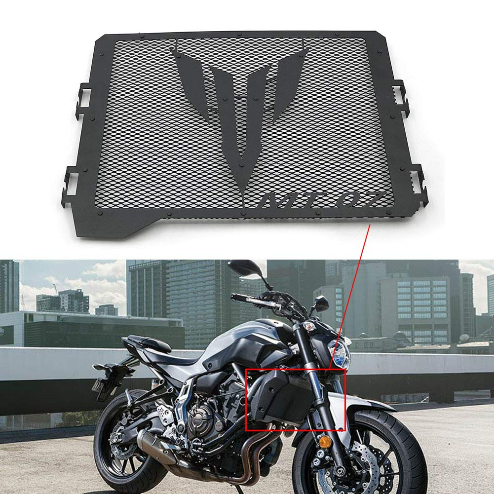 For Yamaha MT07 FZ07 Tracer 700 XSR 700 Radiator Grille Guard Cover Protector motoparty