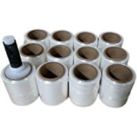 "5"" x 1000' (12) ROLLS HAND STRETCH SHRINK WRAP 12 Rolls/cs by The Boxery"