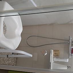 NRS Healthcare M66613 - Asiento para inodoro, altura ajustable: Amazon.es: Salud y cuidado personal