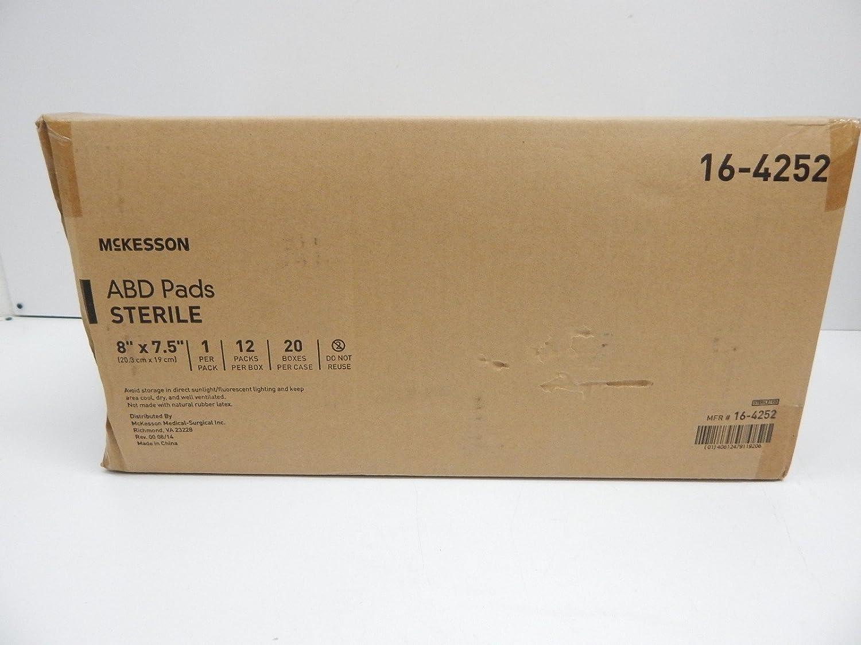 McKesson 16-4252 Medi-Pak Performance Plus Combine almohadilla ABD ...