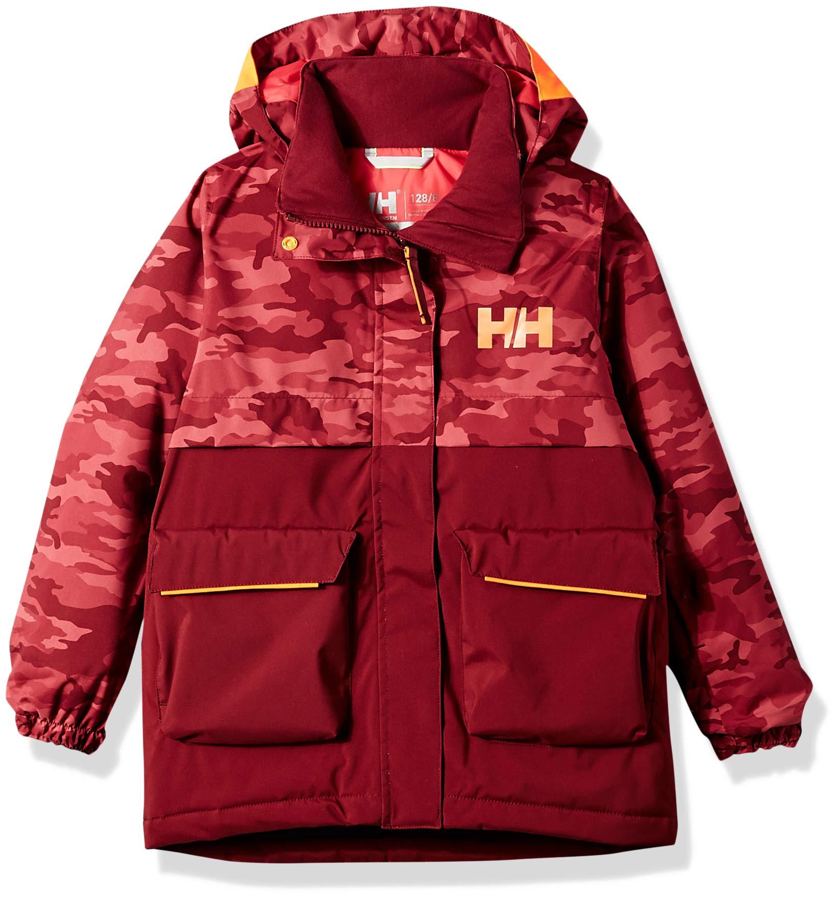 Helly Hansen Jr Waterproof Sweet Frost Ski Jacket, Cabernet, Size 12