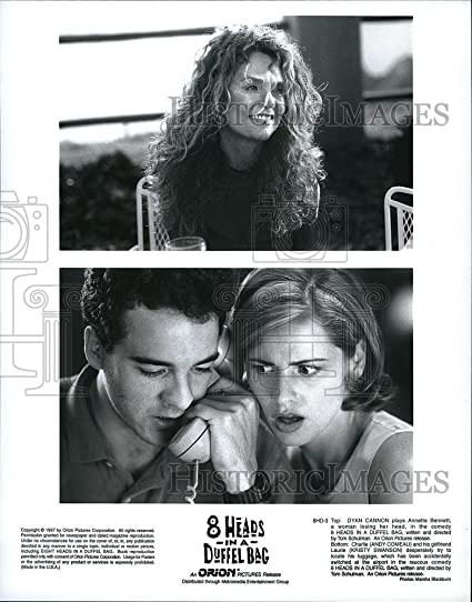 Image Unavailable. Image not available for. Color  1997 Press Photo Dyan  Cannon Andy Comeau Kristy Swanson 8 Heads Duffle Bag Movie 42c4ea242b