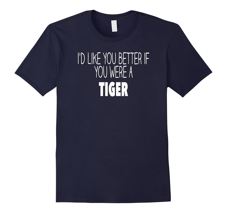 Funny Tiger Gift T Shirt-Art