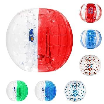 Amazon.com: Furgle inflable Bumper burbuja pelota de fútbol ...