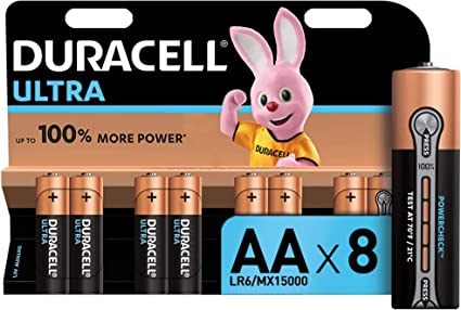 Duracell Ultra Aa Mignon Alkaline Batterien Lr6 8er Elektronik