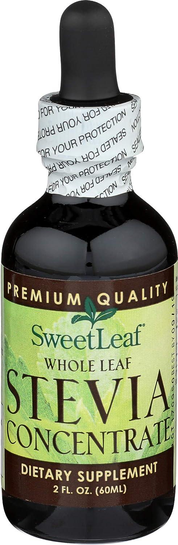 SweetLeaf Whole Leaf Stevia Concentrate, 2 Ounce