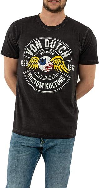 Von Dutch Camiseta Ralf DG (M): Amazon.es: Ropa y accesorios
