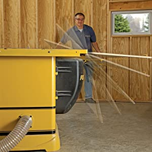 Leg Up Table Saw Panel-Lifter