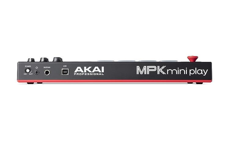 MPK Mini Play:リアパネル