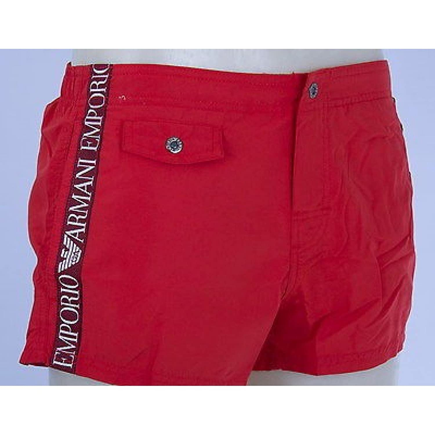 Boxer shorts beachwear EMPORIO ARMANI 211272 4P420 t. c. 05774 RED XL