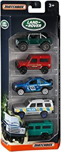 Matchbox 2017 Land Rover 1:64 Scaled 5-Pack