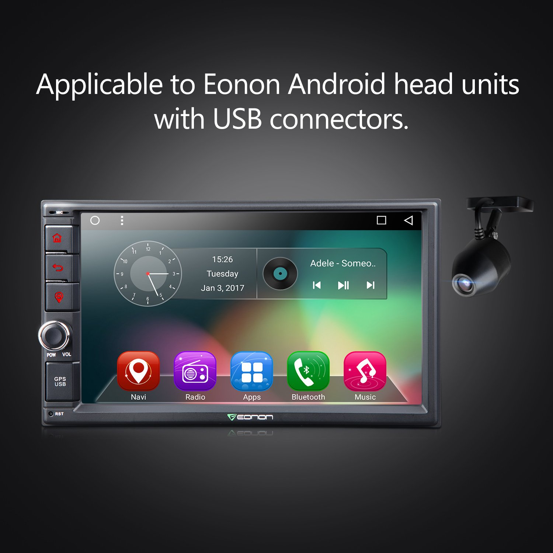 Eonon Usb Dashcam Car Parking Dashboard Camera Fit Wiring Diagram Electronics