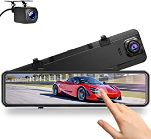 Campark 2.5K Mirror Dash Cam for Cars 12