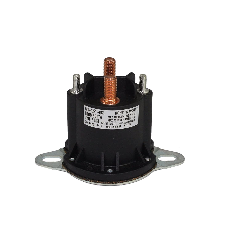 light switch wiring     on trombetta solenoids trombetta 684-1221-012 12v  powerseal dc contactor: amazon com