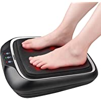 RENPHO Electric Shiatsu Foot Massager with Heat and Deep Kneading, Foot Massage Machine with Washable Cover for Plantar…