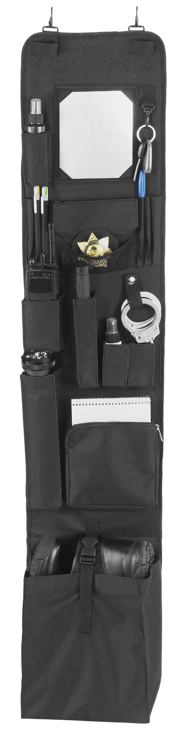 EXPLORER Police Style Hanging Locker or Closet Door Organizer 11'' x 52'' - Locker Org