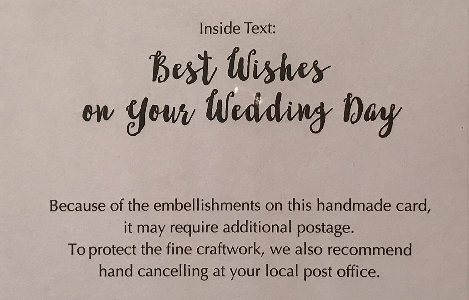 What To Write In A Wedding Card.Amazon Com Elegantly Embellished Wedding Engagement Anniversary