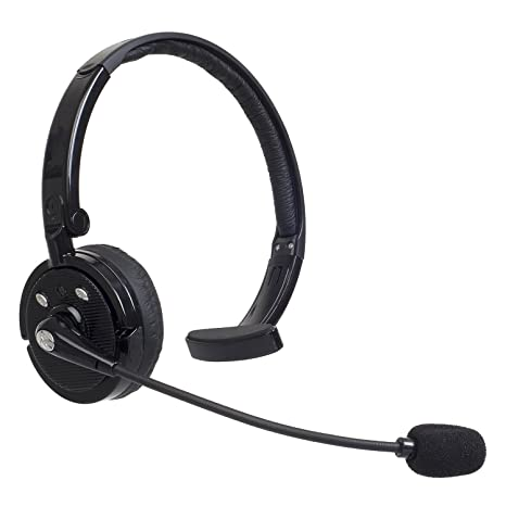 Willful Auriculares Inalámbricos con Bluetooth para Camioneros, con Micrófono sobre un Cabezal Único Cancelación de