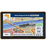 7 Inches 8 GB Sat Nav Car GPS with Touchscreen Include UK and EU Latest Maps and Lifetime Free Updates