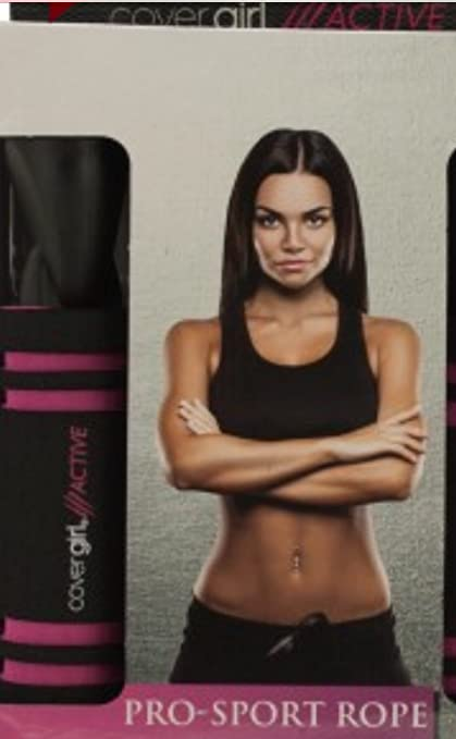 Kole Imports Cover Girl Active Black Pro-Sport Jump Rope