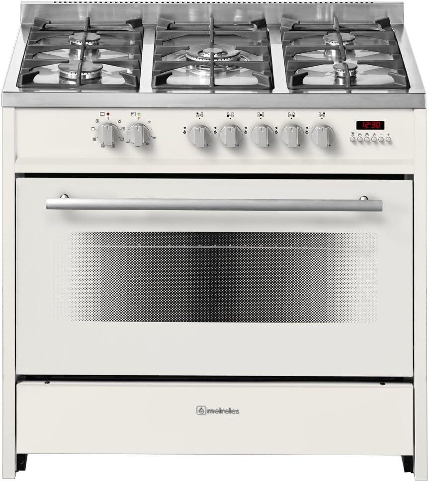 Meireles E 911 CR - Cocina (Independiente, Color blanco, Botones ...