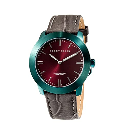 Perry Ellis Slim Line Unisex 42 mm Reloj de Cuarzo 07009 - 01: Amazon.es: Relojes
