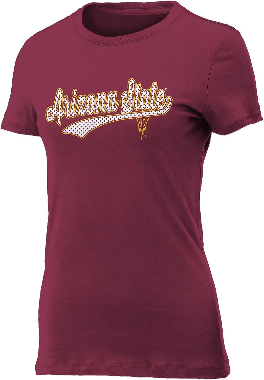 NCAA Womens Polka Dotsie Vintage Sheer Tee