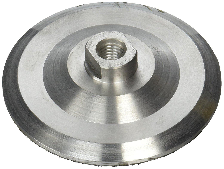 7-Inch Aluminum Back Holder 7'' Aluminum Backer set of 2 Pieces for 7 Inch grinder polisher polishing pad stone masonry concrete floor masonry terrazzo floor surface treatment