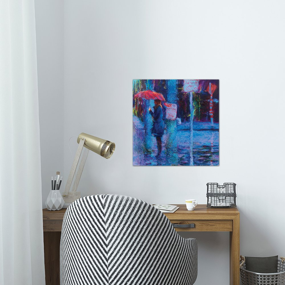 iCanvasART No Stops in Freemont Canvas Print by Iris Scott 26 x 26