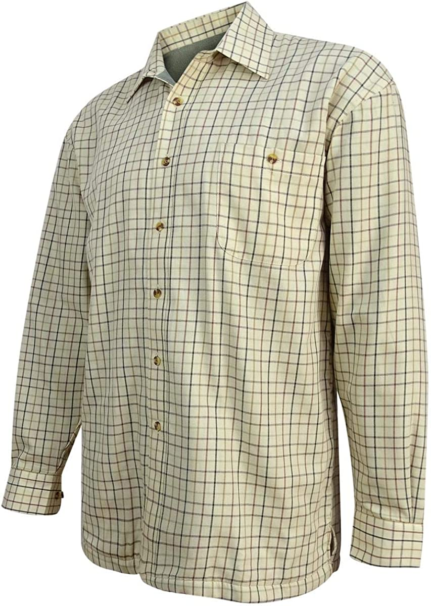 Hoggs Of Fife Erin Ladies Jersey Lined Shirt