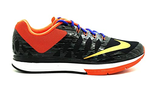 the best attitude af3b6 ea214 Amazon.com | Nike Mens Air Zoom Elite 7 Running Shoes Black ...