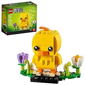 LEGO BrickHeadz 40350 Easter Chick Building Kit (120 Pieces)