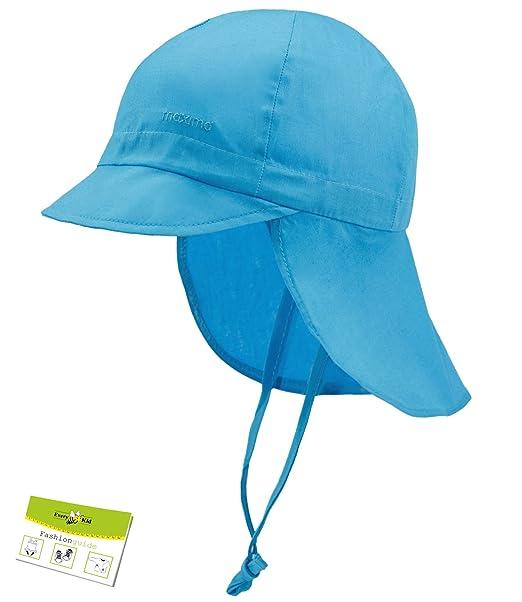 Maximo Cappello Di Protezione Del Collo Dai Raggi Uv Berretto Con Laccio Il  Bambino Cap Ragazze Estate (MX-04500-708580-S16-BM1) incl. 2afa6cdb2714