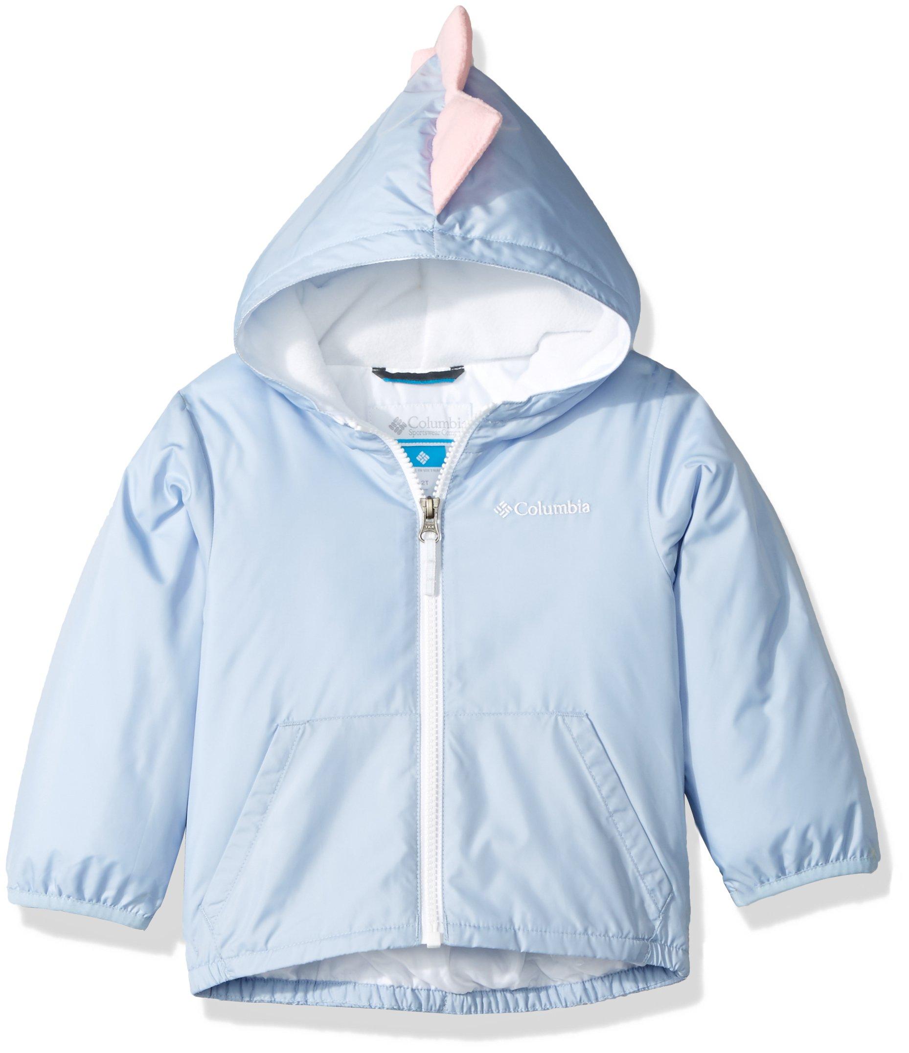 Columbia Boys' Toddler Kitterwibbit Jacket, Faded Sky, 2T