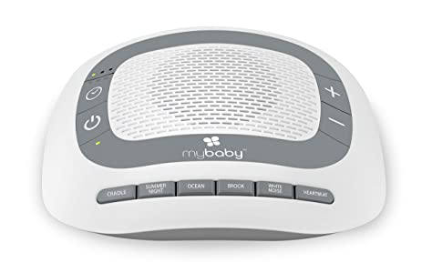 White Noise Machine for Babies | 6 Soothing Lullabies for Newborns, Sound Therapy for Travel, Relaxing, Kids, Newborns, Toddlers | Baby Songs, Adjustable Volume, Auto-off Timer | MyBaby SoundSpa bedtime routine for babies - 715Vz5XRe8L - Bedtime routine for babies – the ultimate guide, hack, and gadgets