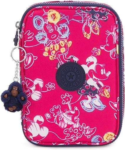 Estuche KIPLING 100 pens doodle pink: Amazon.es: Oficina y papelería