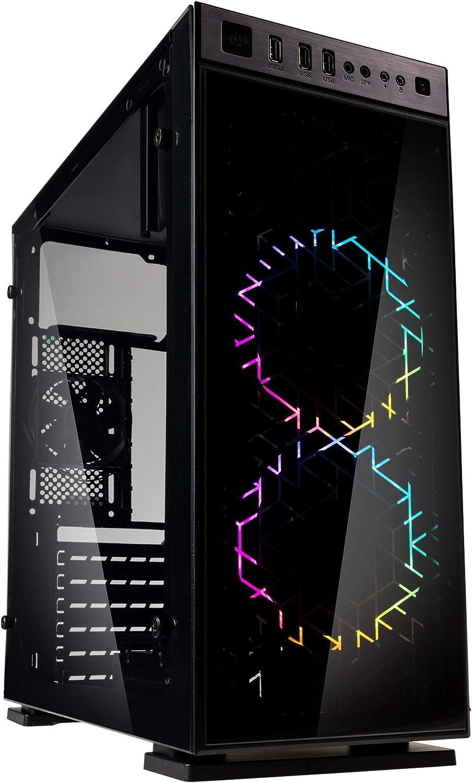 Kolink Inspire K1 RGB Midi Tower - Estuche para PC - Vidrio ...
