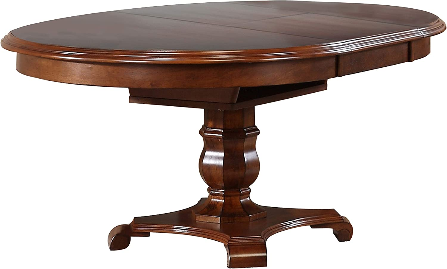 Sunset Trading Andrews Dining Table, Distressed Chestnut