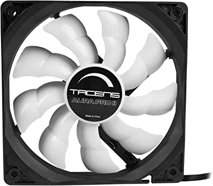 Tacens Aura Pro II - Ventilador para ordenador (12 cm, adaptadores ...