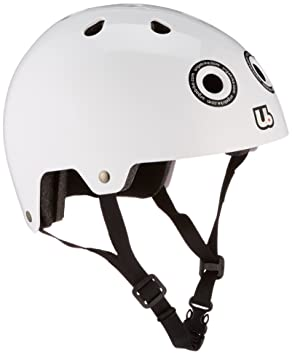 Urge UBP14106Y - Casco de ciclismo infantil para bicicleta BMX, color blanco