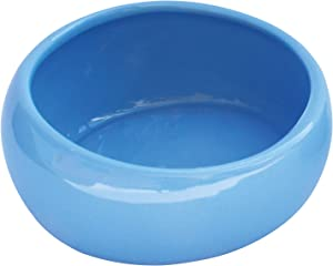 Living World Ergonomic Small Animal Food Dish - for Rabbits, Guinea pigs, Gerbils, and Ferrets