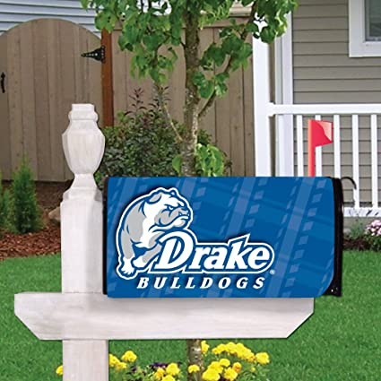VictoryStore Yard Sign Outdoor Lawn Decorations: Drake University Magnetic  Mailbox Cover (Design 2)