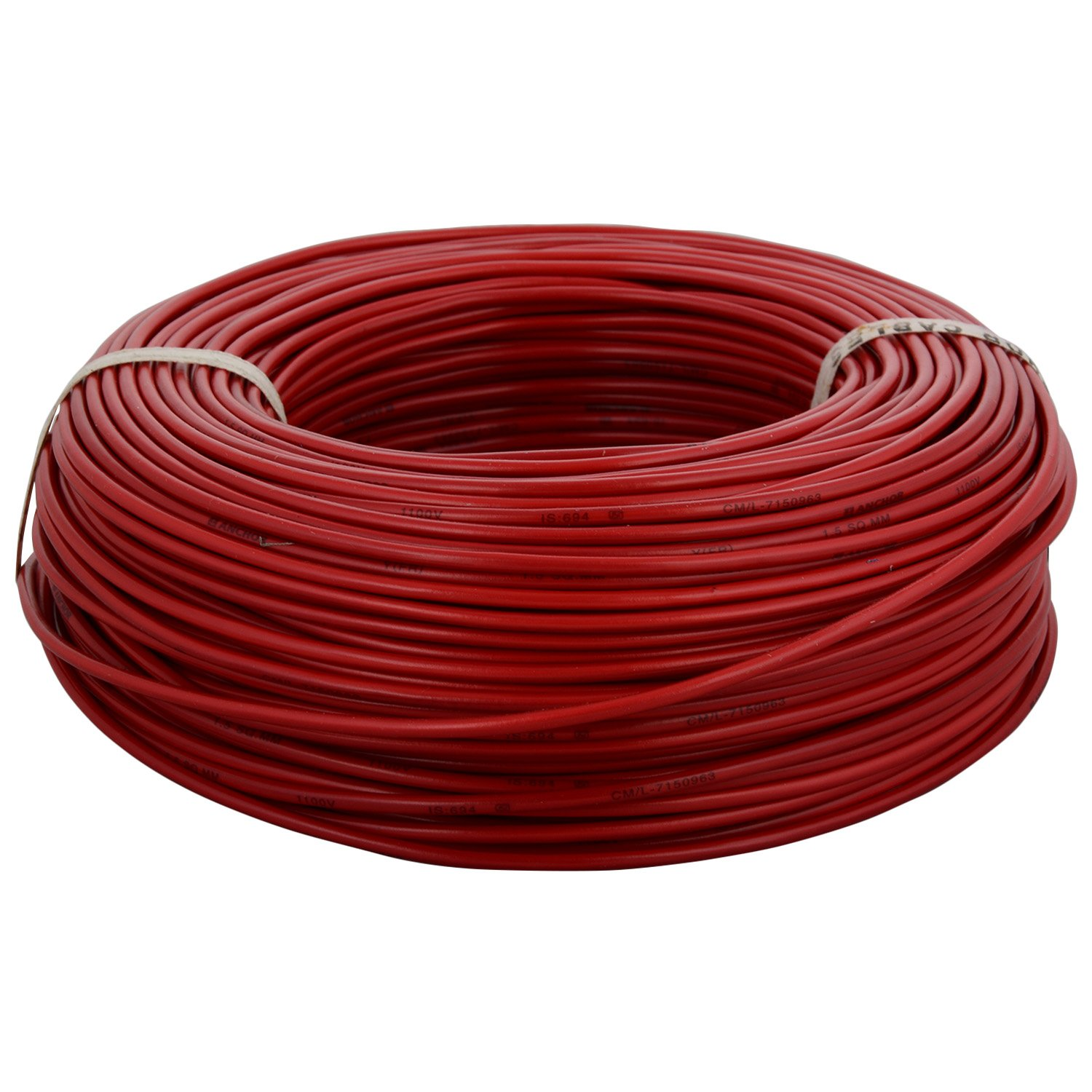 House Wiring In Telugu Diagram And Ebooks Ethernet Anchor Insulated Copper Pvc Cable Wire 1 5 Sq Mm Red Amazon Rh Videos Download Pdf